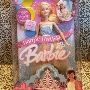 2005 Happy Birthday Barbie